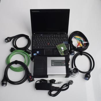 mb star diagnosis sd connect c5 with laptop x201t i7 4g touch screen software 2020.03 hdd 320gb ready to work 2 years warranty