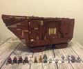 LEPIN 05038 3346Pcs Star Wars Force Awakens Sandcrawler Model Building Kit minis Blocks Brick Compatible with 75059
