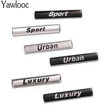 Yawlooc adesivo emblema para bmw e36/e30/e34, emblema para carros e39/e46/e60/e90/f10/f30