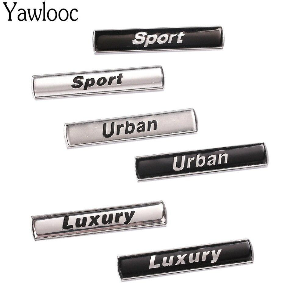 Yawlooc роскошный городской Спорт ремонт авто крыло эмблема задней двери, знак стикер для BMW E36/E30/E34/E39/E46/E60/E90/F10/F30