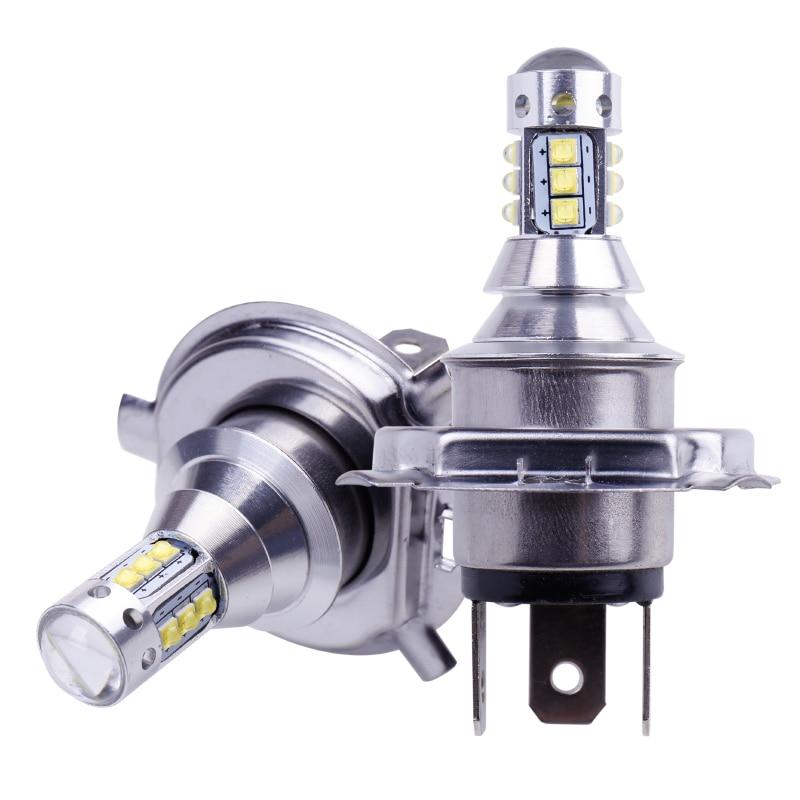 2Pcs H4 LED Bulb Super Bright 12 3535SMD Car Fog Lights 12V 24V 6000K White Driving Day Running Lamp Auto Led H4 Bulb (2)
