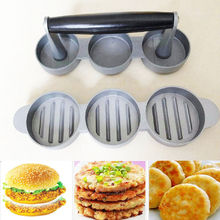 Weston Non-Stick Mini Hamburger Burger Ground Meat Sausage Patty Press Maker