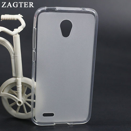 Silicone Case For Alcatel One Touch Go Play <font><b>7048x</b></font> 7048 Soft Cover For Go Play OT7048 OT7048X OT-<font><b>7048X</b></font> 5.0 Inch Clear Back Cover image