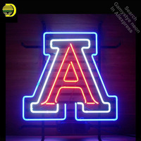 Neon Sign for Sports Team AWs neon bulb Sign Neon lights Sign Hotel Real glass Tube Iconic Bulbs lamp Custom Brand LOGO Cerveja