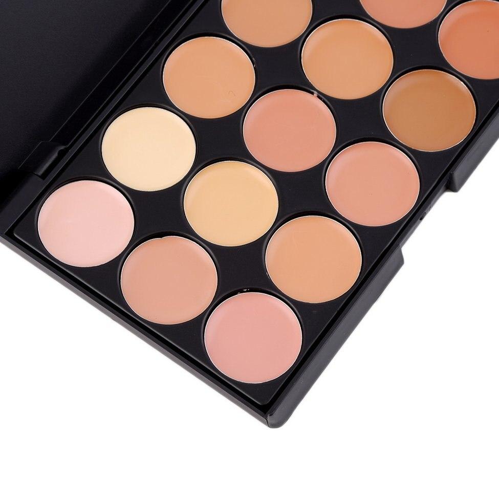 5Pcs Professional Makeup tool set 15 Color Face Concealer Eyeshadow Palette + Wood Handle Brush kit Make up Set5Pcs Professional Makeup tool set 15 Color Face Concealer Eyeshadow Palette + Wood Handle Brush kit Make up Set