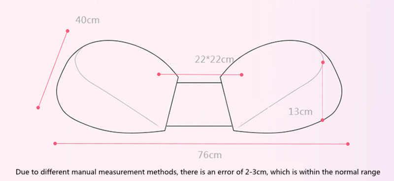 Для беременных Талия боковые подушки U формы многофункциональный пресса подушки для кормления для беременных подушки для беременных 76*40*13 см Прекрасный Pad