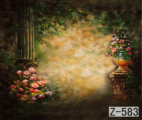 10*10ft Hand Painted Muslin scenic Photo Backdrops,Studio wedding backdropZ583 ,fundo da fotografia,cloth photography background
