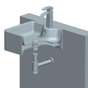 Image 5 - Umywalka łazienkowa pułapka na butelkę dren korek z przelewem, zestaw do spustu zlewu syfon odpływ P TRAP chrom