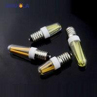 2 Вт 4 Вт E14 LED 220 В светодиодные лампы затемнения ампулы Bombillas Светодиодная лампа E14 огни заменить галогенные кристалл Люстра Свет