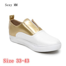Campus Student Slip On Shoes Women Flats Oxfords Shoes Loafers Woman Casual Flat Shoes High Quality Plus Size 33 – 40 41 42 43