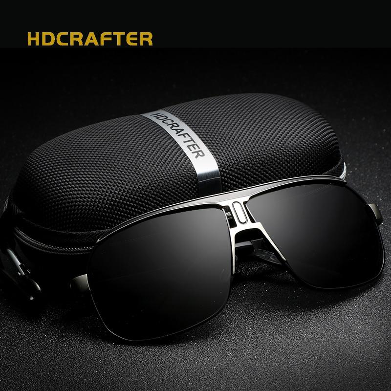2019 Brand Designer Sunglasses Men Polarized Driving Sun glasses Mens Classic Oversized Glasses For Male Luxury Square Eyewear