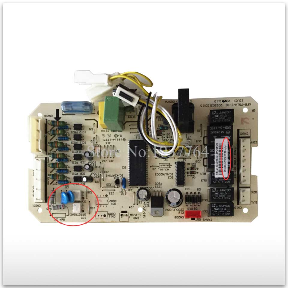 new for Air conditioning computer board circuit board RF16LW/ESD KFR-75LW/E-30 PC board good working 100% new good working for air conditioning computer board kfr 120w s 520t2 kfr 75lw e 30 control board working