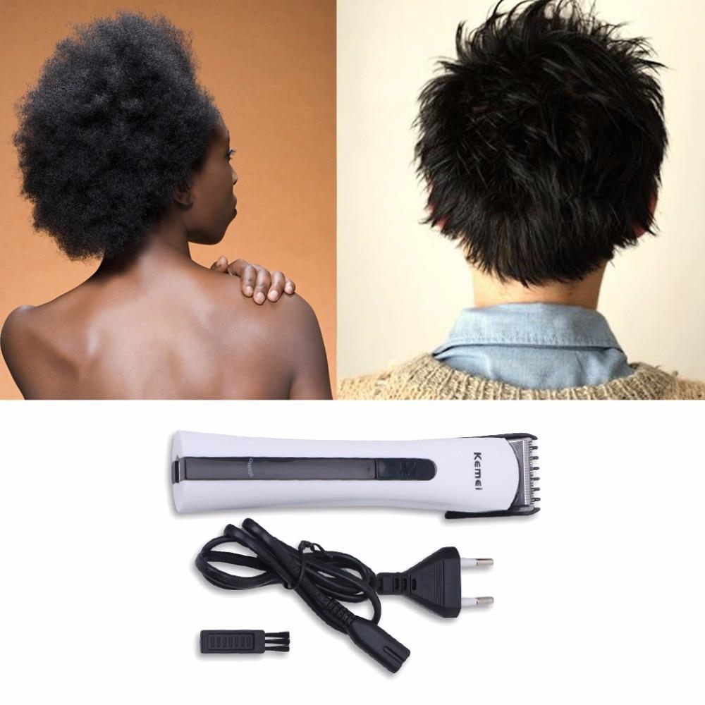 Kemei Portable Rechargeable Electric Razor Shaver Beard Hair Clipper Trimmer Grooming EU Plug цена и фото