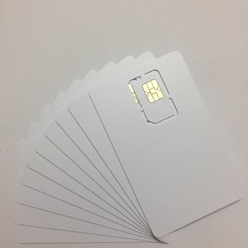 US $2 0 33% OFF|OYEITIMES 4G 128K Programable Blank SIM Card GSM WCDMA LTE  SIM Card 2FF/3FF/4FF With ICCID IMSI KI OPC(OP) SIM Card For Operator-in