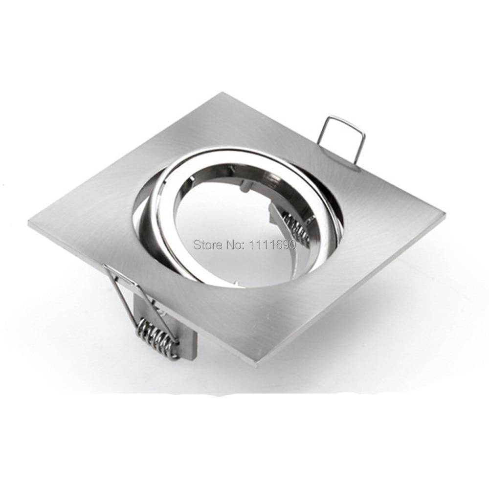 Platz Einbau metall chrome verstellbare deckenleuchten halter GU10 ...