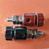 Bloque de terminales de alta corriente 10mm regulador de transformador conector de poste de terminal perforado Terminales     -