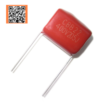 5pcs CBB 400V 2UF 205J 400V 5% PITCH 20MM DIP CBB Polypropylene film capacitor