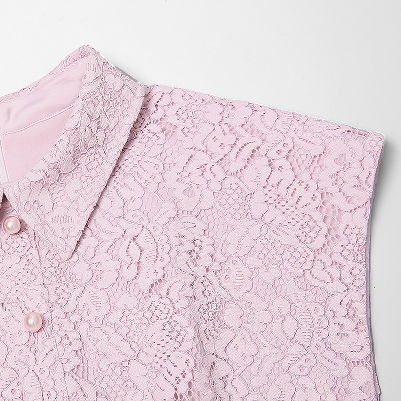 Soie Haute D'été Patchwork Arc Rose Élégant Qualité Dentelle Mousseline De 2018 Maille Piste Femmes Plissée Longues Robes Rwp6Y1