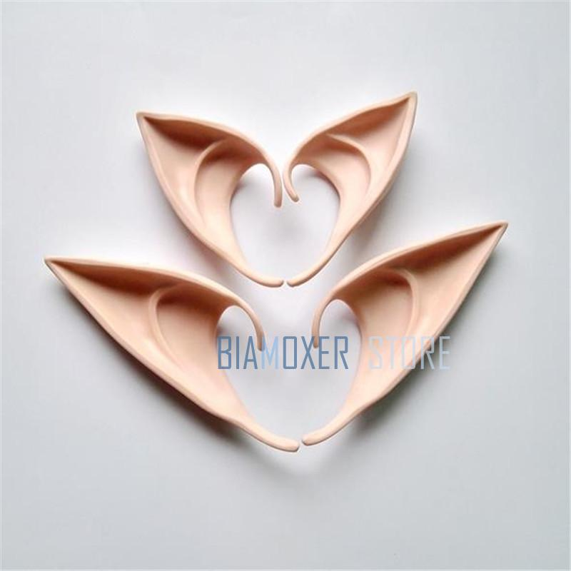 2 size Free shipping Anime Elf ears fairy Halloween wizard sorcerer cosplay Accessories   Headwear   Elven ears