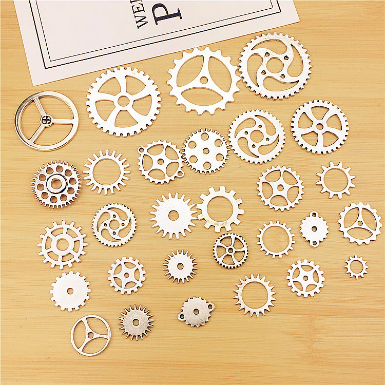 Steampunk Gears Charms Pendant For Diy Jewelry Making Handmade Bracelet Necklace Key Chain Bag Accessories M206 With The Most Up-To-Date Equipment And Techniques Home & Garden