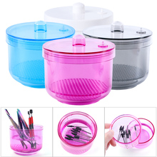 1pcs Nail Sterilizer Disinfection Storage Box Nail Drill Bits Cleaning Tool Accessories Acrylic Manicure Clean Nail Tools JI1005