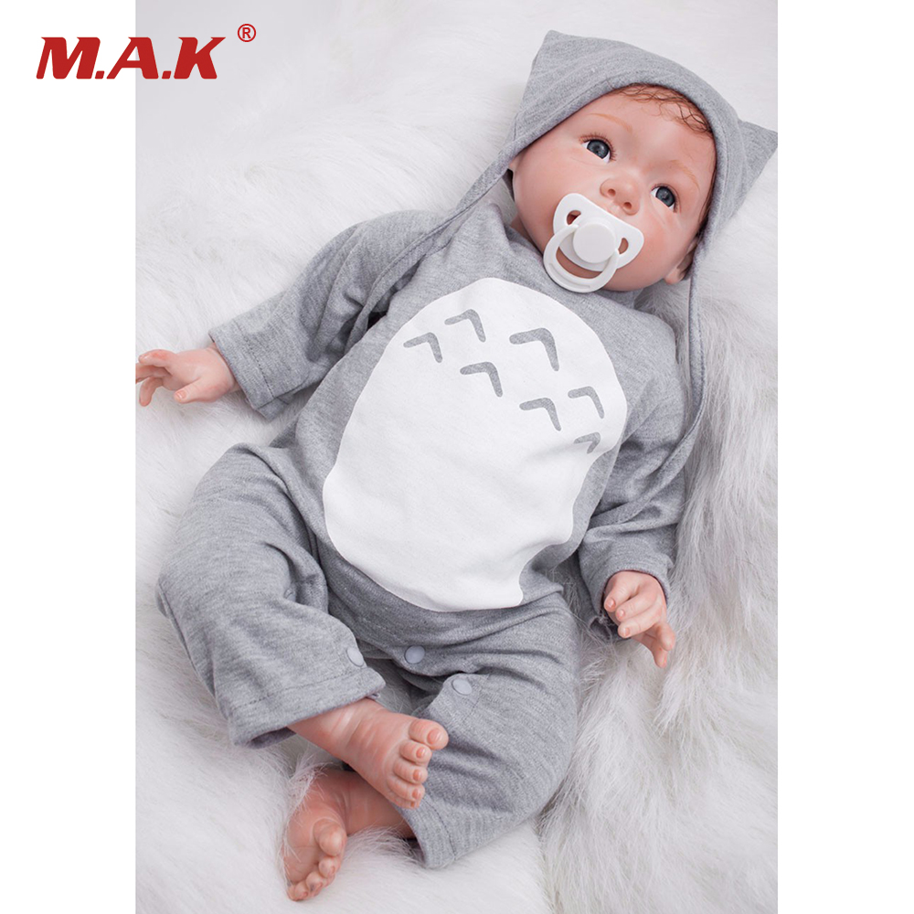 22 Painting Reborn Dolls Model Toys Mini Lifelike vinyl Baby Model Kids Favourite Gifts Collections
