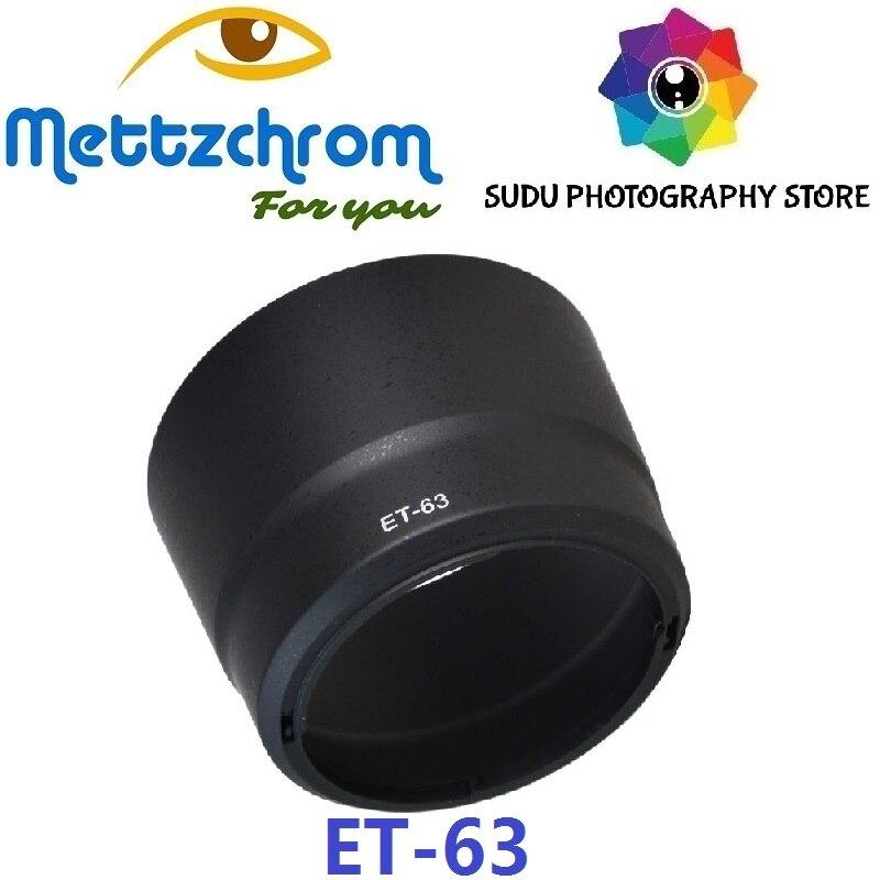 ET-63 Lens Hood For Canon EF-S 55-250mm F/4-5.6 IS STM Lens Hood ET63 ET 63 Wholesale Price