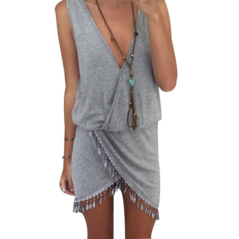 Compare Prices on Grey Wrap Dress- Online Shopping/Buy Low Price ...
