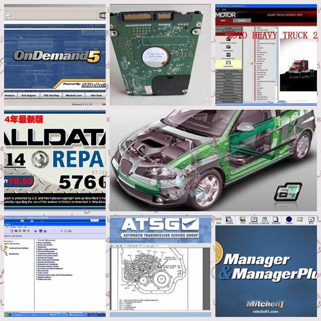2018 newest 47 software in 1tb hdd alldata and mitchell software rh aliexpress com Trashing Used Car Oil Car Clutch