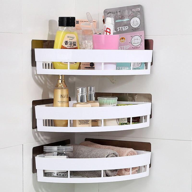 1PCS New Fashion Powerful Corner Space Shelf Bathroom ...