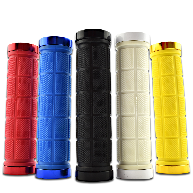 Bicycle Handlebar Grips MTB Grips Cuffs Anti-skid Bike Grips Handle Rubber Mountain Cycling