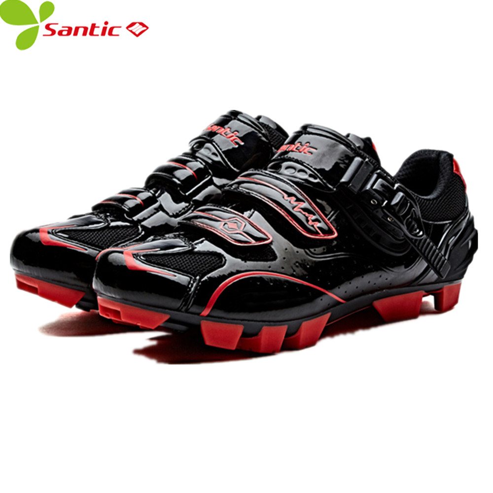 Santic Men MTB Road bike Cycling font b Shoes b font Cycling Athletic Racing Team font