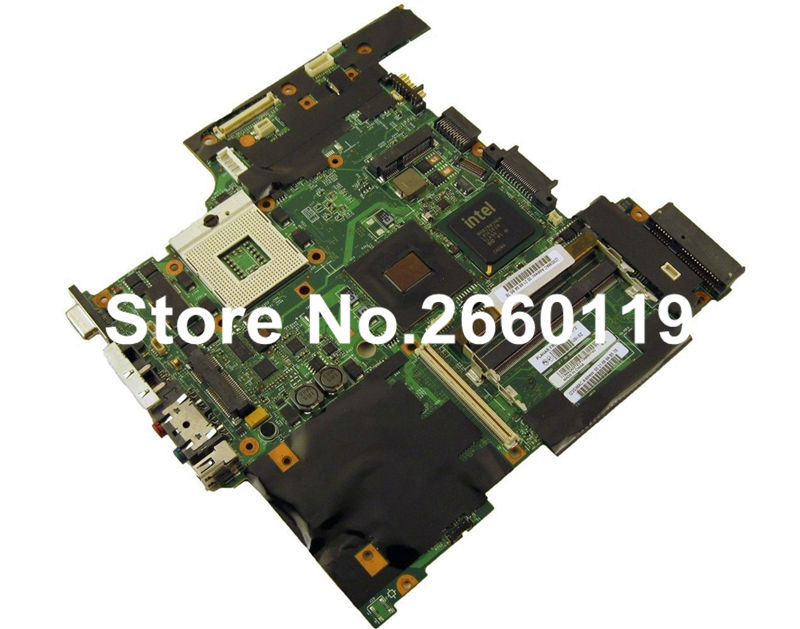 ФОТО laptop motherboard for lenovo T61 42W7872 system mainboard fully tested and working well