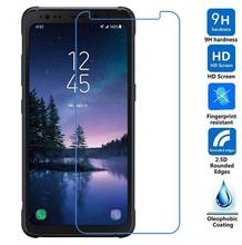 2pcs For Samsung Galaxy S8 Active Tempered Glass Front Cover Protective Film Explosion-proof LCD Screen Protector For SM-G892A
