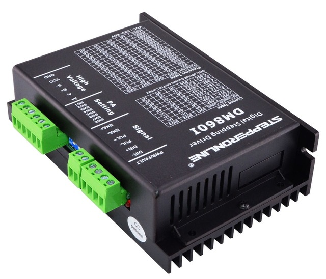 Digital Stepper Motor Driver 2.4-7.2A 20-80VDC Stepper Motor Controller for Nema 34 Stepper Motor DM860I
