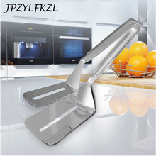 Hot Stainless Steel Barbecue Clip BBQ Meat Tongs Fried Food Shovel Bread Steak Metal Tong Vegetable Clamp Kitchen Baking Tool hot multipurpose kitchen tool bread bbq food stainless steel clip