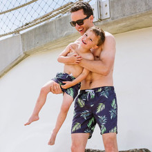 Matching Father and Son Swim Trunk Board Short Pants