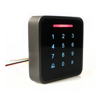 Metal password door stop card reader  password gate access control system  multi-function password access system