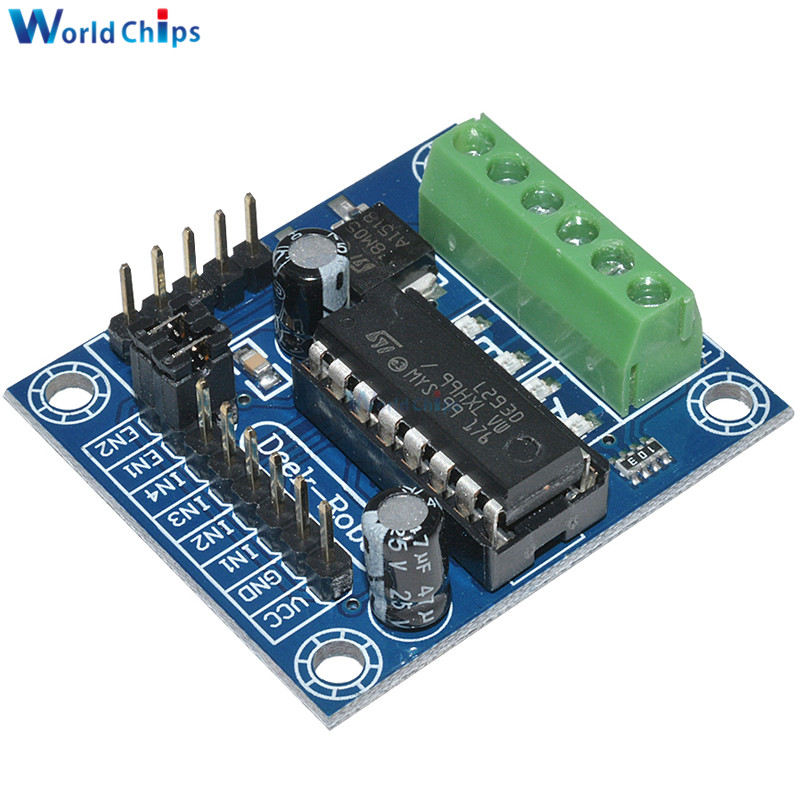5pcs mini motor drive shield expansion board l293d module for arduino uno mega 2560 dc4 5 25v in Arduino mega 2560 motor shield