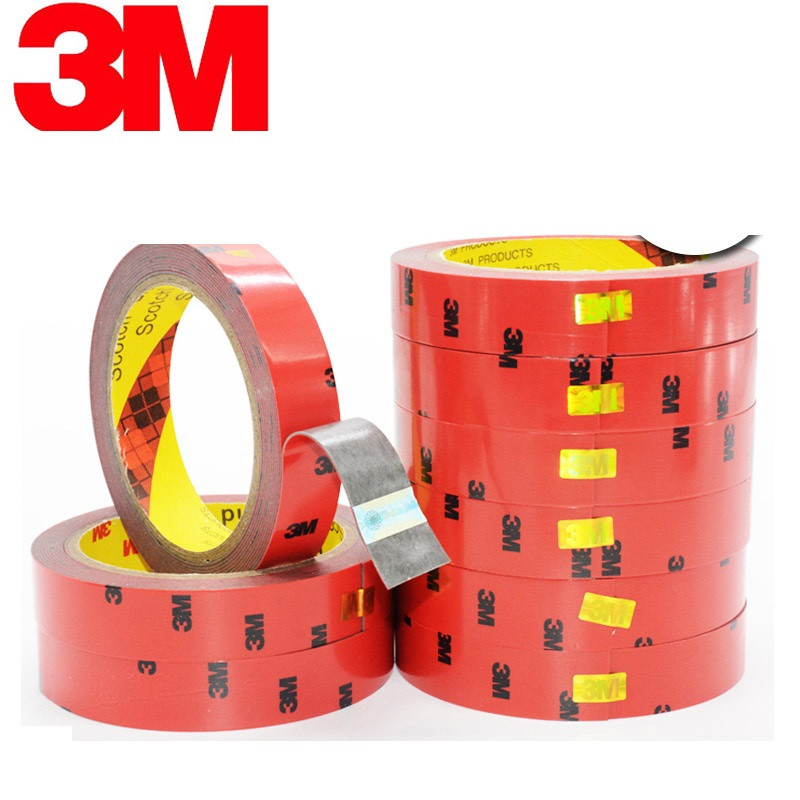 3M Double-sided Adhesive Ultra-strong Trace Of Ultra-thin Foam Sponge Waterproof Car With Tape Car Seal 3 Meters