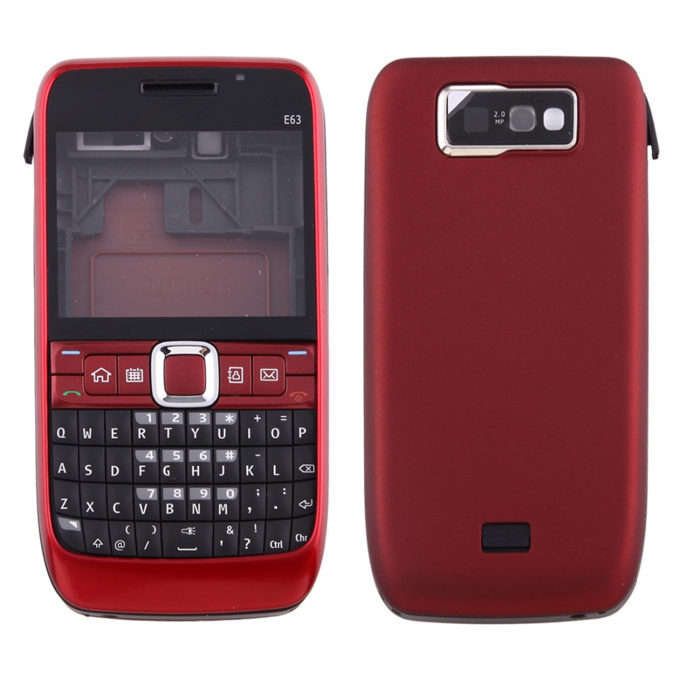 Full Housing Cover (Front Cover + Battery Back Cover + Keyboard) For Nokia 515/E63/3310