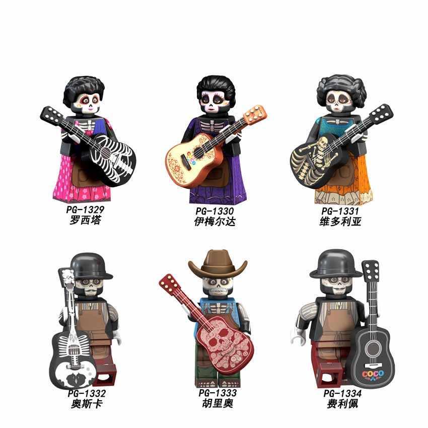 "Tunggal Panas EVA Neon Genesis Evangelion Kartun Angka Asuka Shiji ""Ikari"" Gendou Ling Bo Li Boneka Bangunan Blok Mainan Jm140"