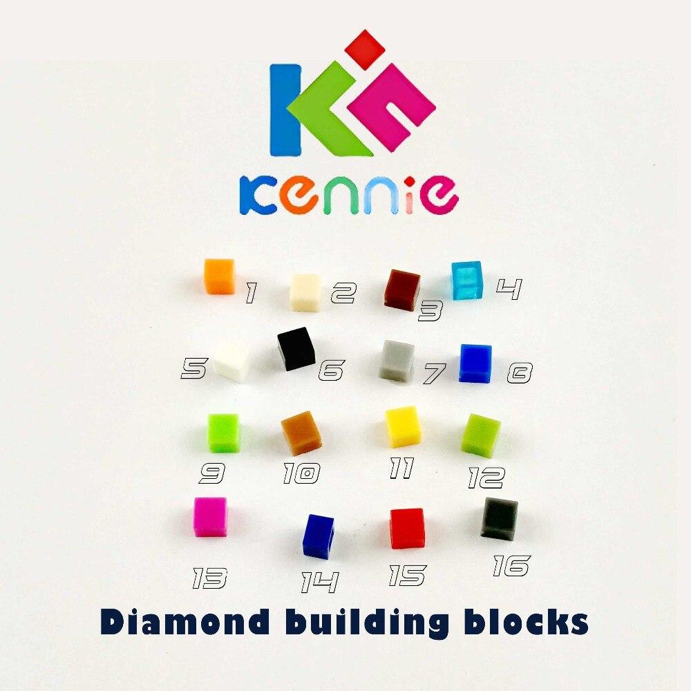 13500pcs/lot Kennie mini NO.3070 Bulk color Parts bulk Flat Tile 1X1 Particles Classic Diamond building blocks Parts DIY toys-in Blocks from Toys & Hobbies    1