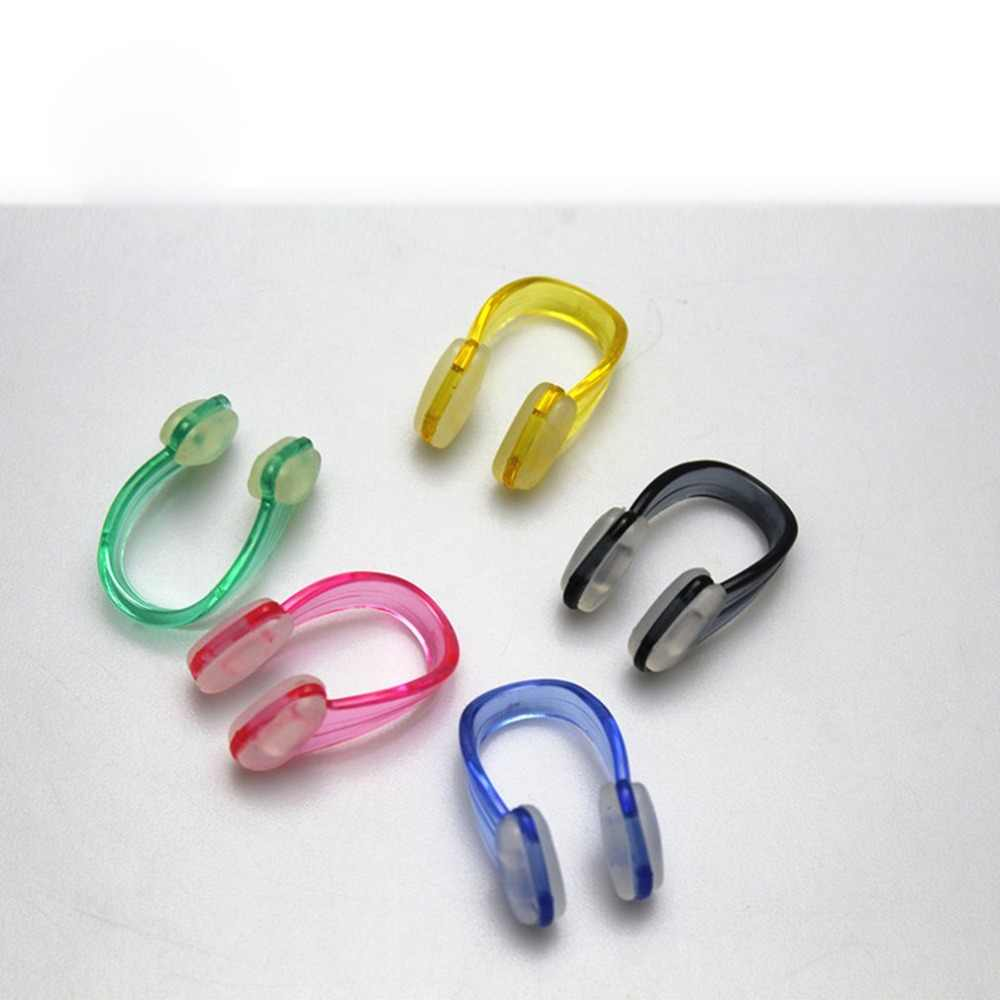 Nose Clips red Small Size Adult Children Swimming Nose Clip Ear ...