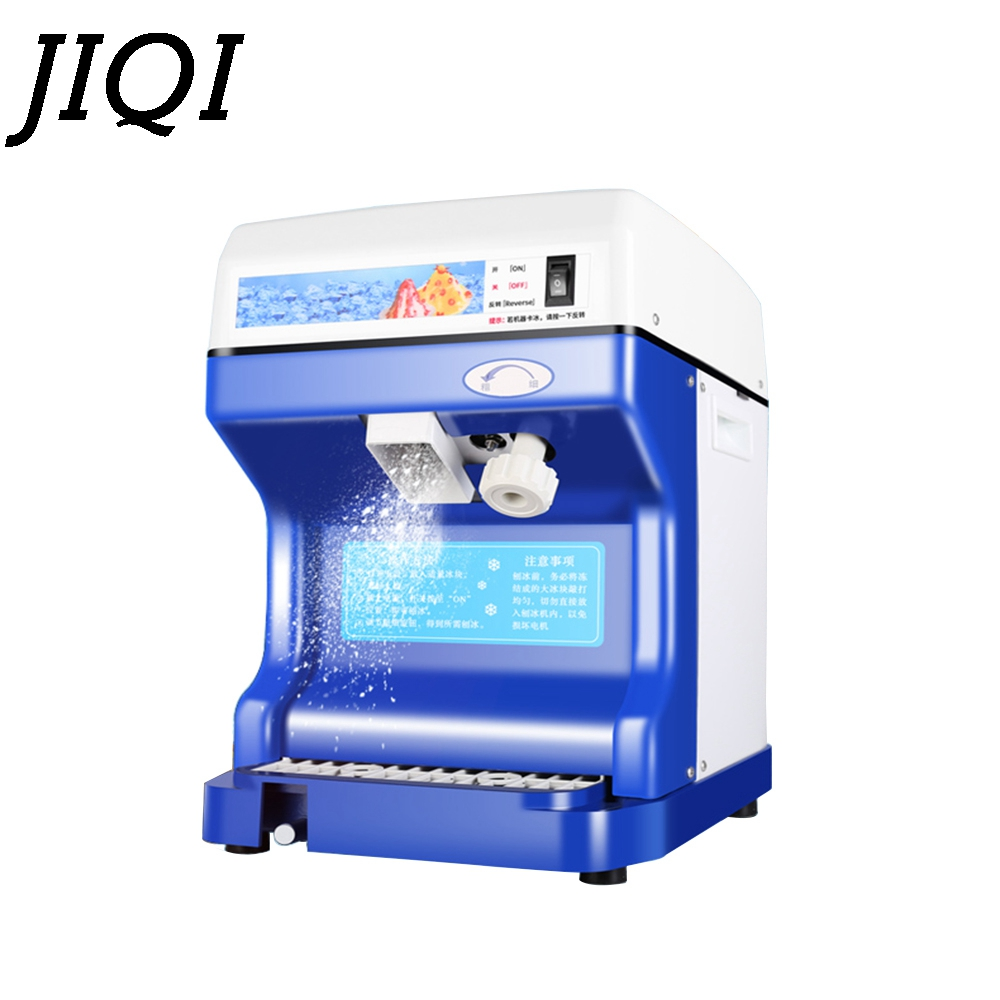 Commercial ice shaver crusher ice slush maker mini snow cone machine multifunction sand ice making machine 110V 220V EU US plug jiqi household snow cone ice crusher fruit juicer mixer ice block making machines kitchen tools maker