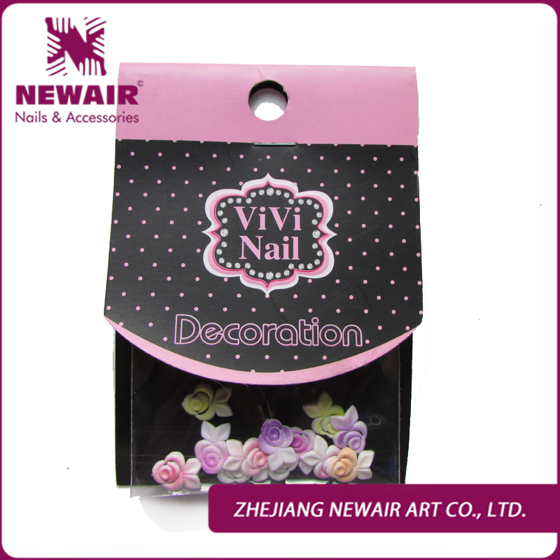 Sanft Nail Art 100% Marke Neue Genius Nail Art Dekoration 3d Blume Polymer Clay Blume Tipps Aufkleber Diy Dekorationen Freies Verschiffen Schönheit & Gesundheit Strass & Dekorationen