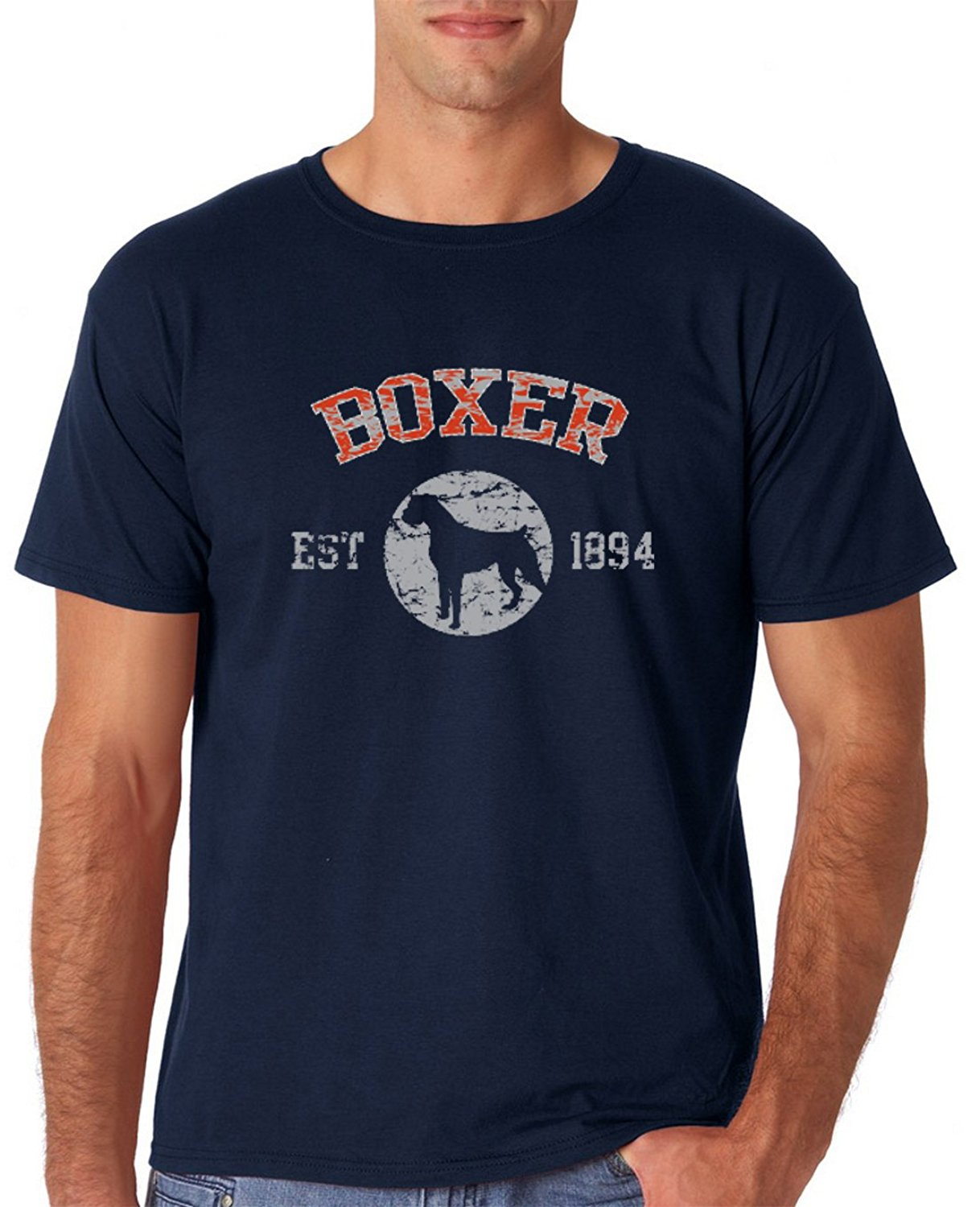 Design your own t-shirt for dogs - Boxer 1894 Dog Lover T Shirt