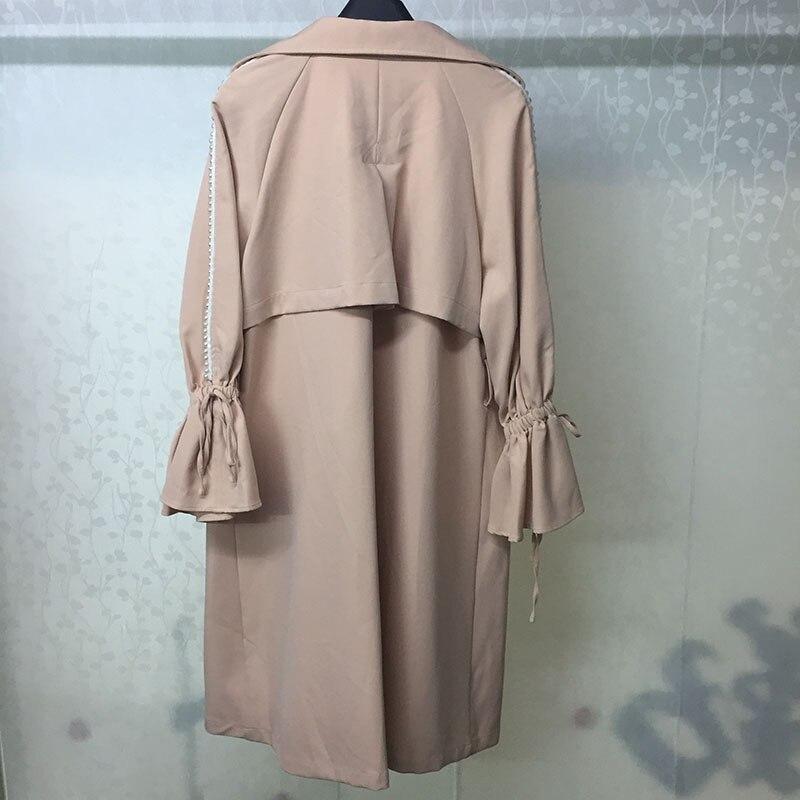 Plaid Pour Haute Marque Femmes Mode Veste cou Qualité Mélanges O Manteau Double Breasted Outwear 4zwrOFq4A