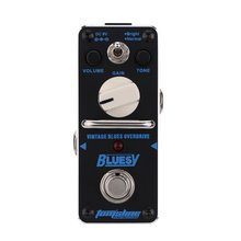 AROMA ABY-3 Bluesy Vintage Blues Overdrive Mini Single Electric Guitar Effect Pedal with True Bypass mooer classic blues mood overdrive guitar effects pedal