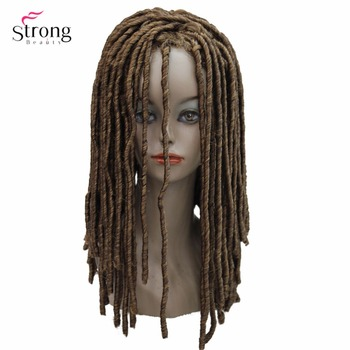 StrongBeauty косы с крючком, косы с крючком, синтетические дреды, парик для волос